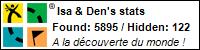 Profil Géocaching de Isa & Den