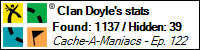 Stats Bar for Clan Doyle