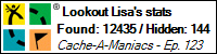 Stats Bar for Lookout Lisa