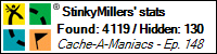 Stats Bar for StinkyMillers