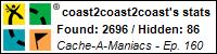 Stats Bar for coast2coast2coast