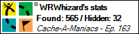 Stats Bar for WRWhizard