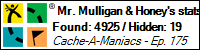 Stats Bar for Mr. Mulligan & Honey