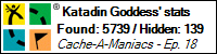 Stats Bar for Katadin Goddess