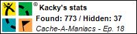 Stats Bar for Kacky
