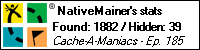 Stats Bar for NativeMainer