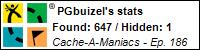 Stats Bar for PGbuizel