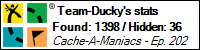 Stats Bar for Team-Ducky