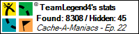 Stats Bar for TeamLegend4