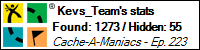 Stats Bar for Kevs_Team