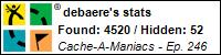 Stats Bar for debaere