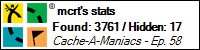 Stats Bar for mcrt