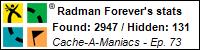 Stats Bar for Radman Forever