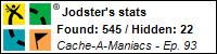 Stats Bar for Jodster