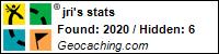 JRI's geocaching profile