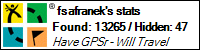 Geocaching profile for fsafranek