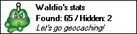 geocaching.com stat bar