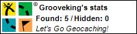 Grooveking@Geocaching.com