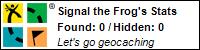 Meine gefundenen Geocaches über Geocaching.com