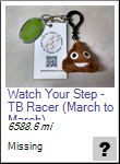 Watch Your Step - TB Racer (March to March)