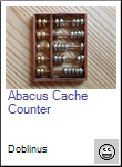 Abacus Cache Counter