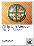 All In One Geocoin 2012