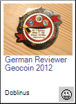 German Reviewer Geocoin 2012