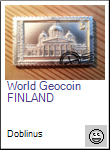 World Geocoin -FINLAND-