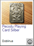 Pecodu Playing Card Geocoin