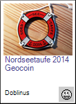 Nordseetaufe 2014 Geocoin