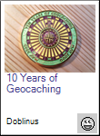 10 Years of Geocaching