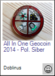 All In One Geocoin 2014 - Pol. Siber