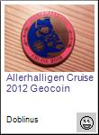 Allerhalligen Cruise 2012 Geocoin