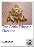 The Celtic Triangle Geocoin