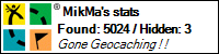 Geocaching stats