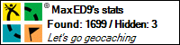 meine Geocaching-Seite