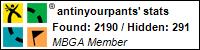Profile for antinyourpants