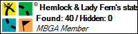 Profile for Hemlock and Lady Fern