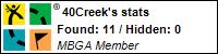 Profile for 40 Creek
